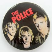 The Police - 'Outlandos D'Amour' Large Button Badge